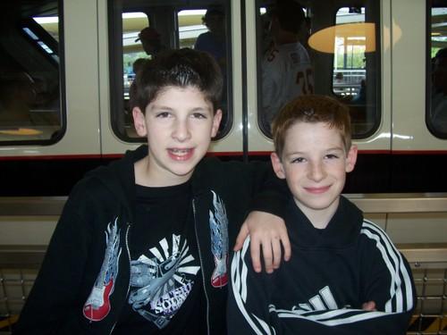 Brett (12) Justin (10)